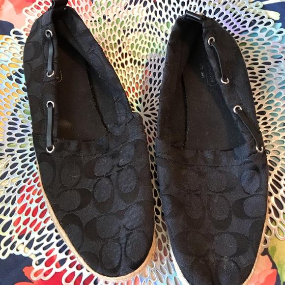 Coach Shoes - Authentic Coach Espadrilles